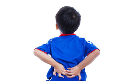 Six Causes of Back Pain in Children